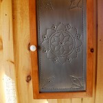 View and buy this Punched Tin Panel Spice Cabinets